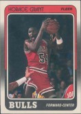 1988-89 Horace Grant Fleer Rookie Card