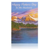 Happy Father's Day To My Husband Greeting Card