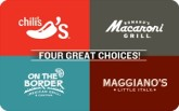 Brinker 4-Choice $25 Gift Card