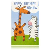 Happy Birthday Nephew Greeting Card