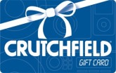 Crutchfield e-Gift Card - $100