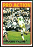 "1972 John Riggins Topps ""IA"" Rookie Card"