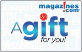Magazines.com eGift Card - $15