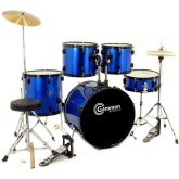 New Drum Set Full Size Adult 5-piece With Cymbals
