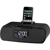 Sangean AM/FM Atomic Clock Radio With iPod Dock