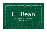 L.L.Bean eGift Card - $25