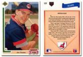 1991 Jim Thome Upper Deck Rookie Card