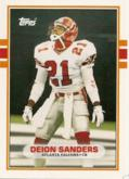 1989 Deion Sanders Topps (Football) Rookie Card