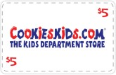 Cookie's Kids - $5 Off