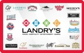 Landry's eGift Card - $25