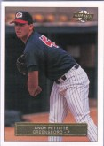 1992 Andy Pettitte Fleer Excel Minor League Rookie