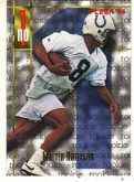 1996 Marvin Harrison Fleer Rookie Card