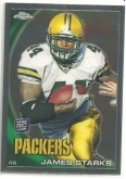 2011 James Starks Topps Chrome Rookie Card