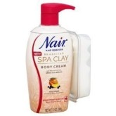Nair Spa Clay Body Cream (13 Oz)
