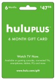 Hulu Plus Subscription eGift Card - 6 Months