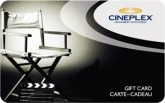 Cineplex eGift Card - $50 CAD