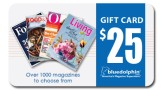$25 Blue Dolphin Magazines Gift Card