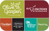 Darden Options $10 Gift Card