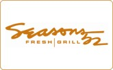 Seasons 52 e-Gift Card - $5