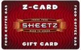 Sheetz $25 Gift Card