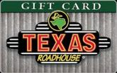 Texas Roadhouse $15 Gift Card