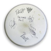 Senses Fail - Autographed Drum Head