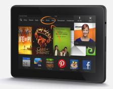 "All-New Kindle Fire HDX 7"" Tablet (16 GB, WiFi)"