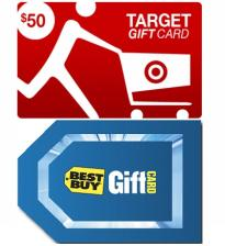 Target & Best Buy $100 eGift Card Pack