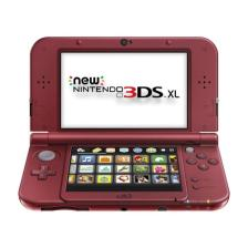 New Nintendo 3DS XL (Red or Black)