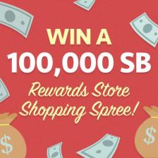 100,000 SB Shopping Spree