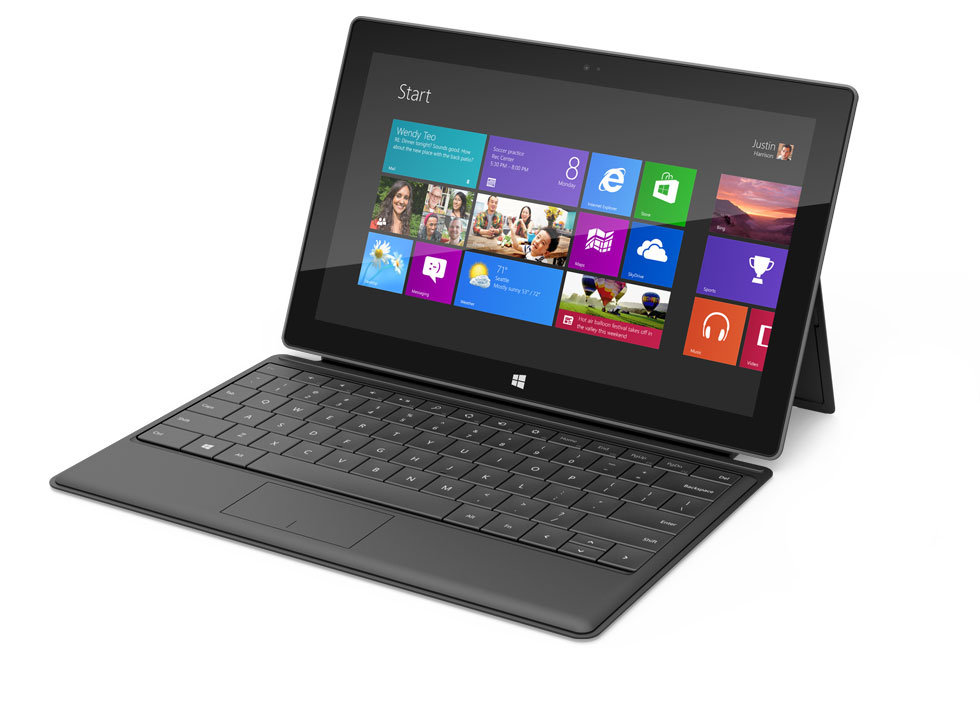 Microsoft Surface with Touch Cover Keyboard