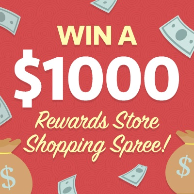 how to win a shopping spree at walmart