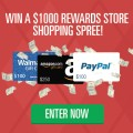 $1000 Rewards Store Shopping Spree