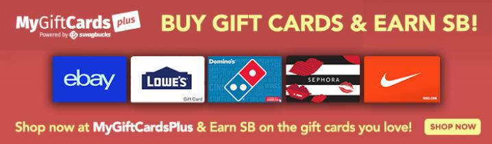 featured gift cards - Free Gift Card Rewards