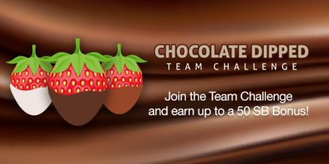 Chocolate Dipped Team Challeng...