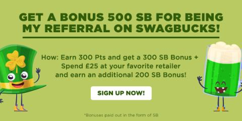 Join Swagbucks this March
