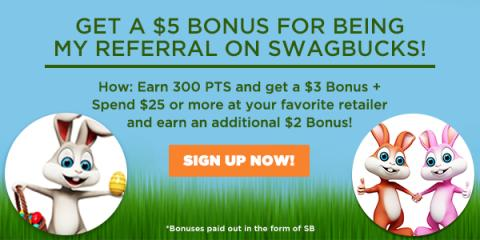 The April Referral Bonus - $5.