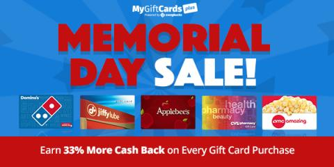 Happy Memorial Day from MyGift...