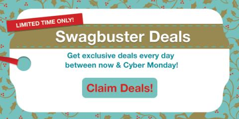 Get exclusive Swagbuster deals...