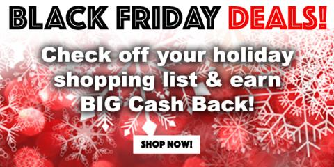 Get Big Cash Back during the Swagbucks Black Friday Sale! (sponsored)