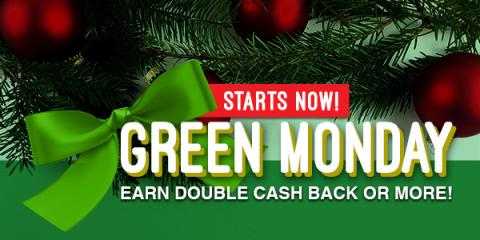 Green Monday Sale bei Swagbucks (sponsored)
