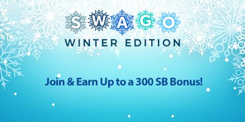 January Swago with Spin & Win (Intl)