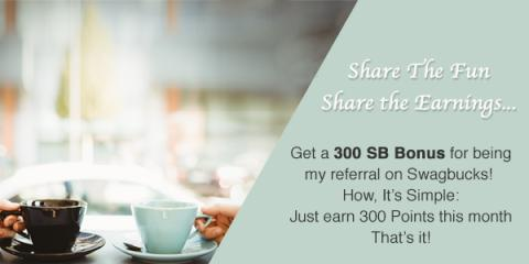 Get 300 bonus SB when you sign...