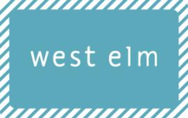 West Elm e-Gift Card - $25
