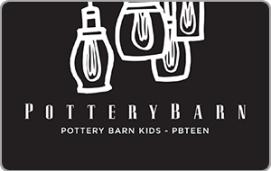 Pottery Barn $50 Gift Card