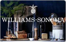 Williams-Sonoma e-Gift Card - $100