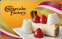 The Cheesecake Factory $10 Gift Card