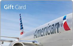 American Airlines $250 Gift Card