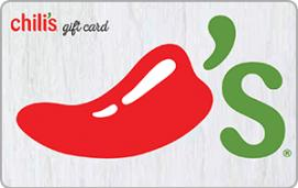 Chili's Grill & Bar $5 Gift Card