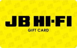 JB Hi-Fi eGift Card - $50 AUD